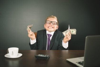 Bambino imprenditore