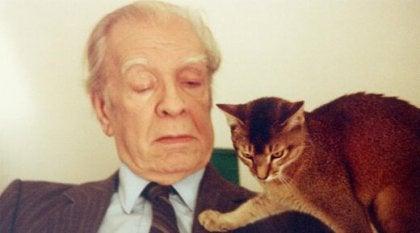 Borges e il suo gatto