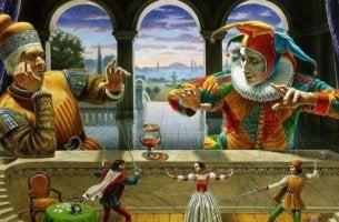 Buffoni con marionette