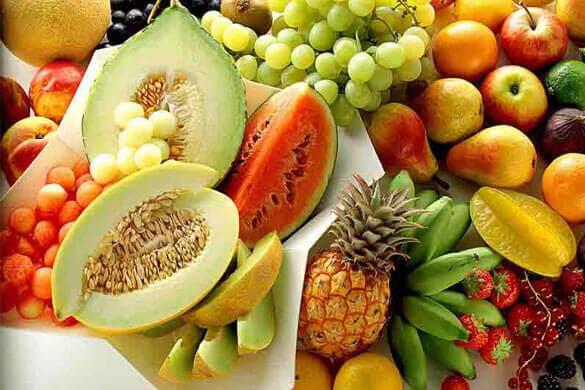 Frutta con beta-carotene