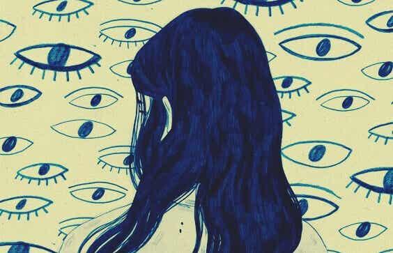Percepire il mondo in modo diverso a causa dell'ansia