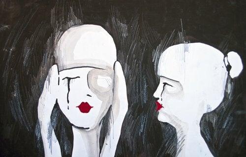 Figure umane che parlano e non ascoltano
