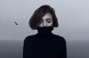 Ragazza con depressione maggiore resistente