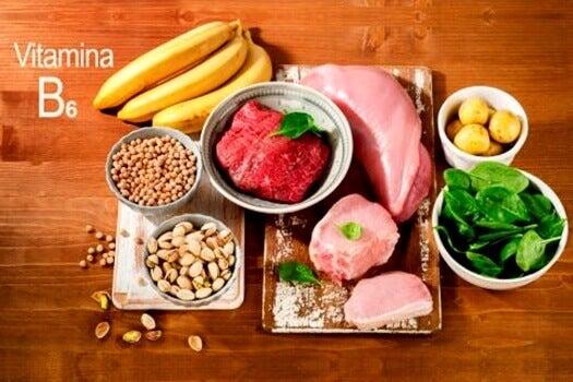 Alimenti con vitamina-B6