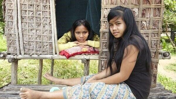 Bambine indigene