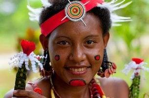 Donna indigena strane usanze sessuali