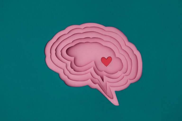 Cervello con cuore