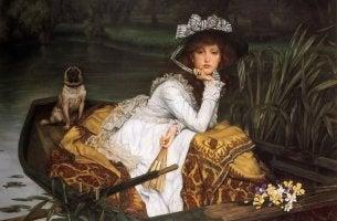 Dipinto di madame Bovary