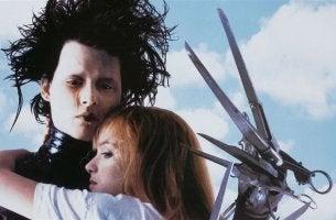 Edward Mani di Forbice con una ragazza