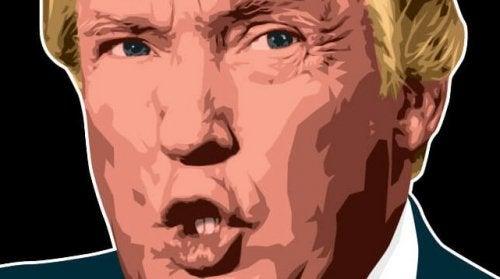 Illustrazione di Donald Trump