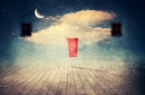 Porta e finestre in cielo