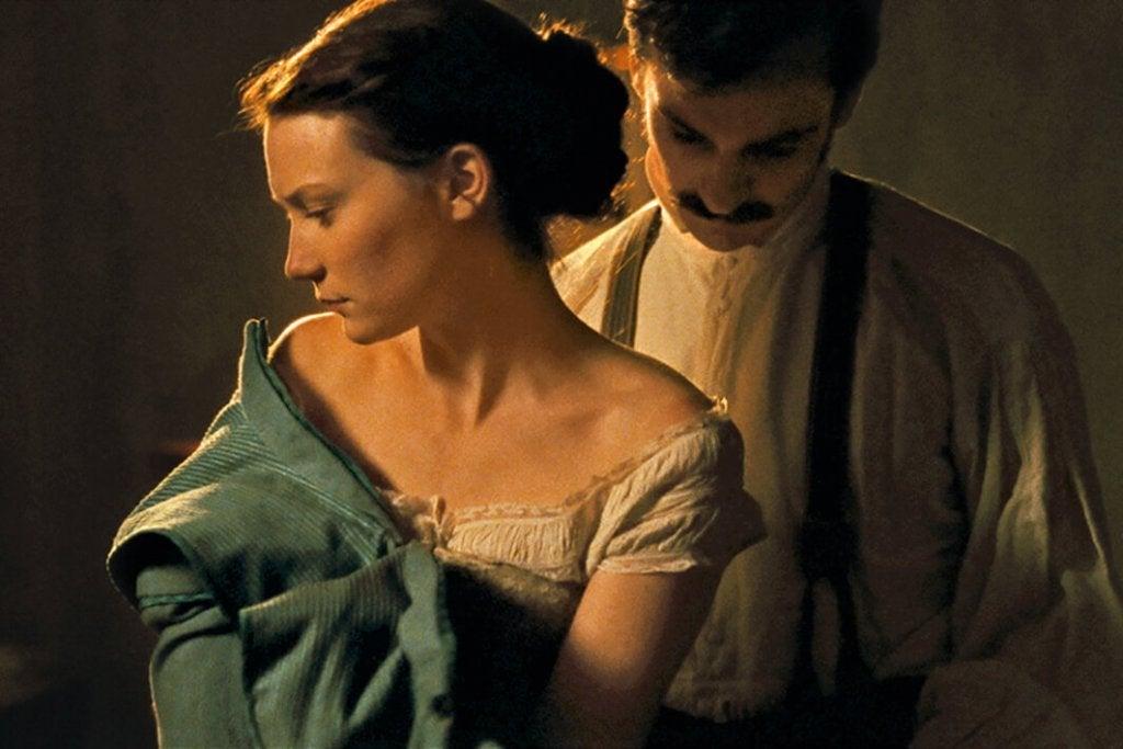 Scena del film su Madame Bovary