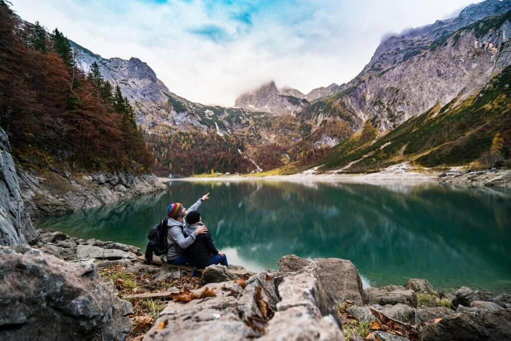 Amici in montagna