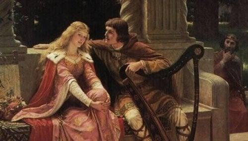 Carlo Magno e moglie