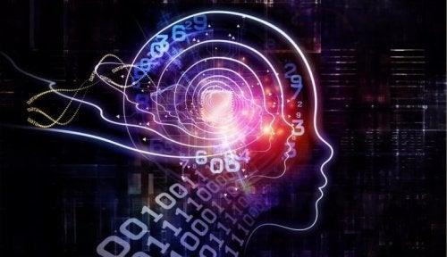 Cervello e codice binario, come simbolo dei trucchi della PNL per cambiare la propria vita