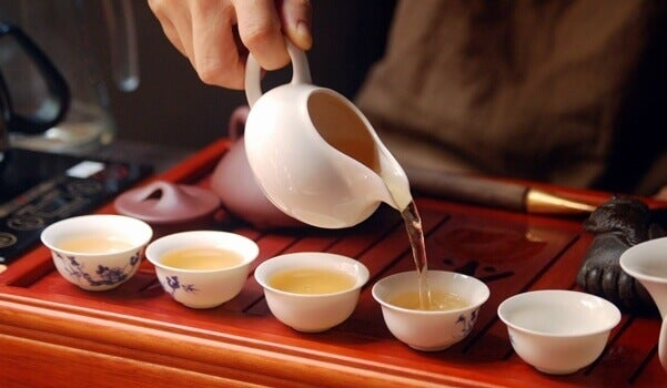 La cerimonia del tè