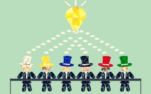 La tecnica dei sei cappelli per pensare