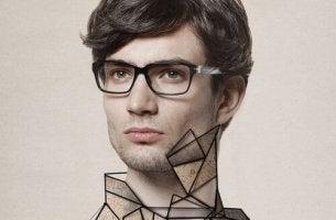 Ragazzo con occhiali camaleonti sociali