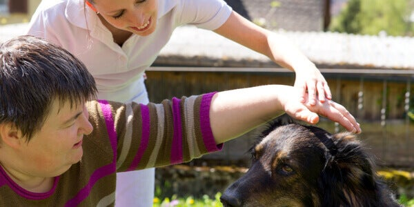 Terapia assistita con cani