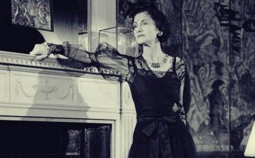 Coco Chanel a casa