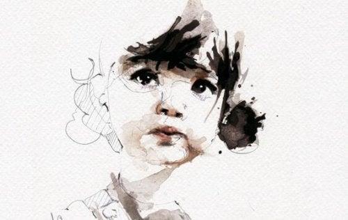 Disegno di una bambina