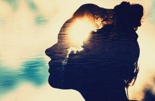 Profilo femminile menti magnetiche