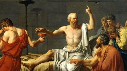 Quadro con Demostene