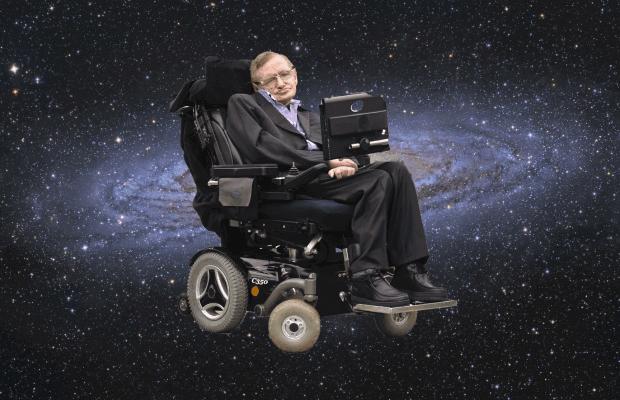 Stephen Hawking nello spazio