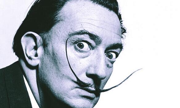 Salvador Dalí fotografia