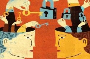 Teste con lucchetti elementi chiave dell'assertività