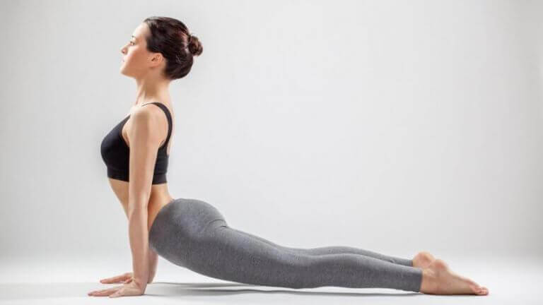 Yoga posizione del cane 1