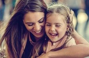Attaccamento sicuro tra madre e figlia