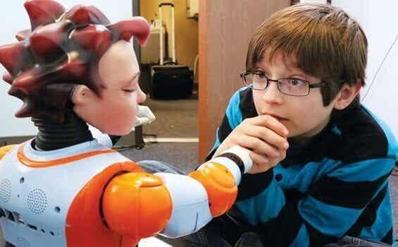 Bambini autistici e robot