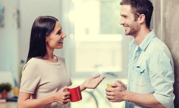 Conversazione positiva: effetti sul cervello