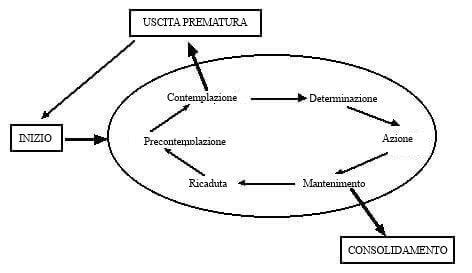 Fasi del modello transteorico del cambiamento