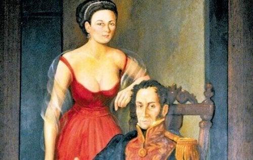 Manuelita e Bolivar