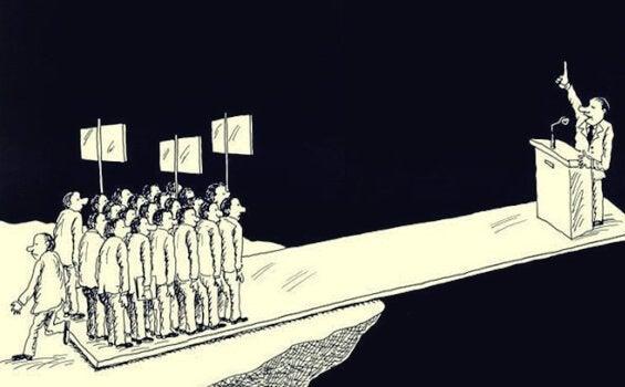 Comizio e cittadini