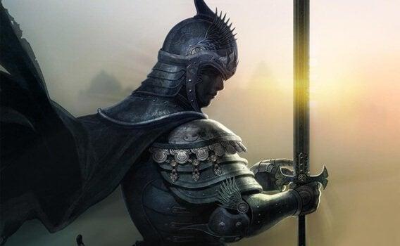 Il cavaliere nell'armatura arrugginita: frasi per riflettere