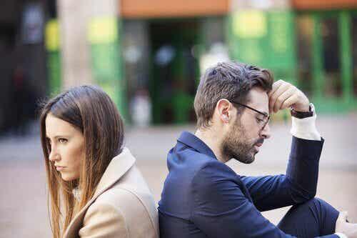 Discutere con il partner sempre per i soliti motivi