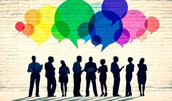 Persona che parlano cambiare la propria vita