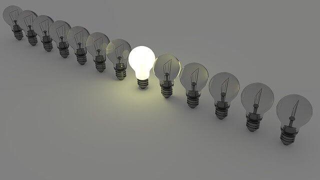 L'importanza dell'atteggiamento: effetto lampadina