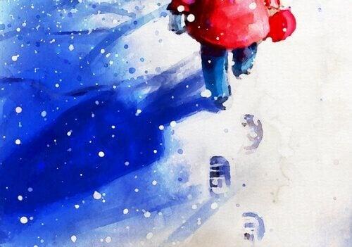Passi sulla neve