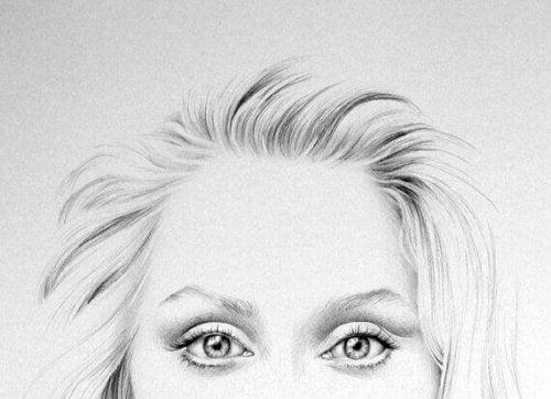 Ritratto sguardo Meryl Streep