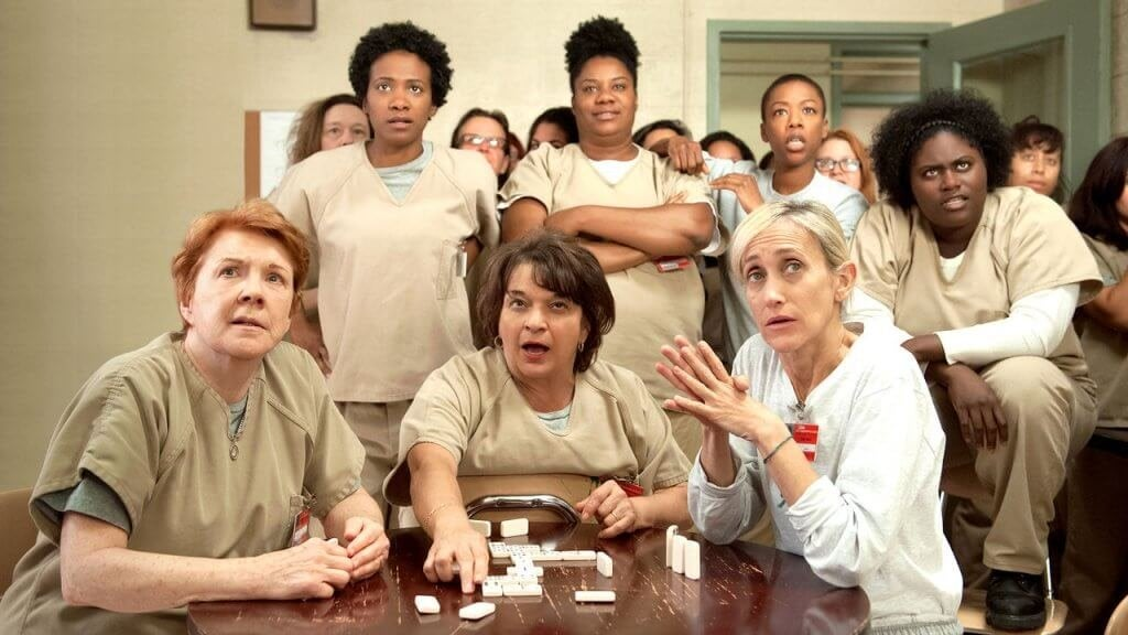 Scena della serie Orange is the new black