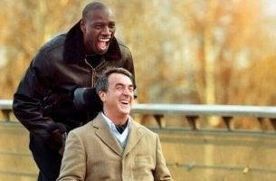 Scena del film Quasi Amici