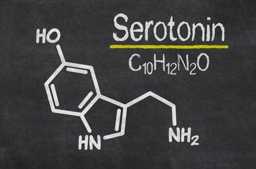 Formula chimica serotonina