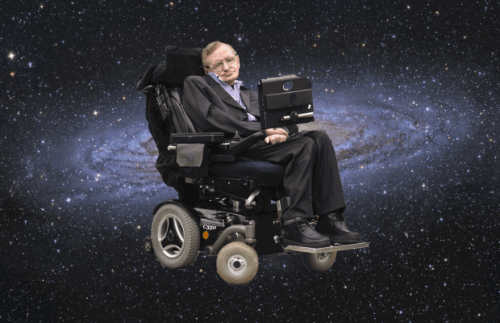Stephen Hawking nell'universo