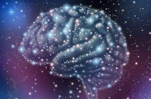 Neurotrasmettitori cervello formato da stelle