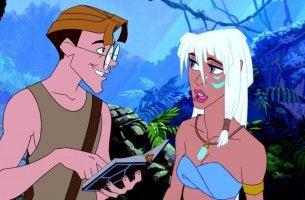 Atlantis Kida e Milo