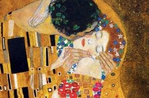 Il bacio di Klimt il piacere